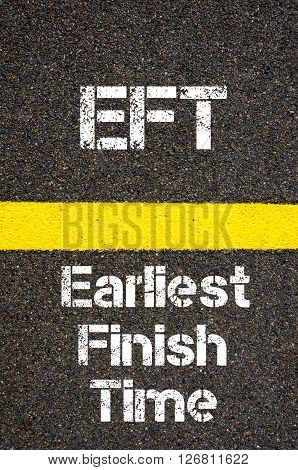 Business Acronym Eft Earliest Finish Time