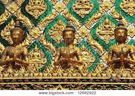 Thai traditional angle in Wat Phra Kaew Temple