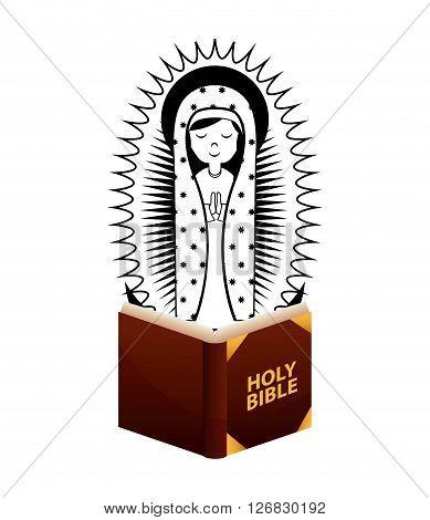 Catolic religion design, vector illustration eps10 graphic
