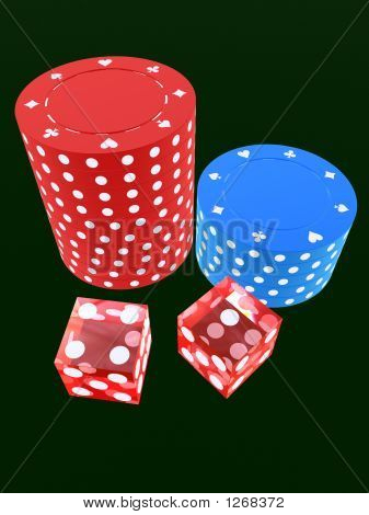 Dice And Jetons