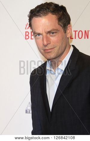 LAS VEGAS - APR 15:  Justin Kirk at the  23rd Annual Race To Erase MS Gala at the Beverly Hilton Hotel on April 15, 2016 in Beverly Hills, CA