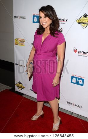 LAS VEGAS - APR 17:  Lacy Chabert at the Milk + Bookies Story Time Celebration at the California Market Center on April 17, 2016 in Los Angeles, CA