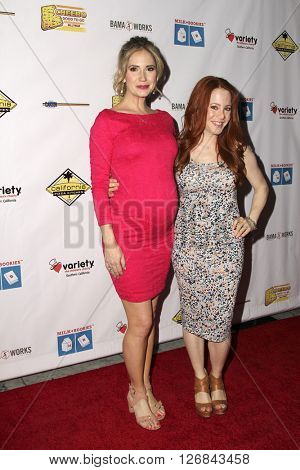 LAS VEGAS - APR 17:  Ashley Jones, Amy Davidson at the Milk + Bookies Story Time Celebration at the California Market Center on April 17, 2016 in Los Angeles, CA
