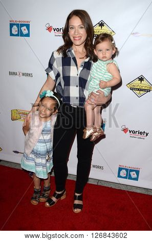 LAS VEGAS - APR 17:  Marla Sokoloff at the Milk + Bookies Story Time Celebration at the California Market Center on April 17, 2016 in Los Angeles, CA
