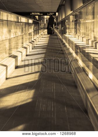 bewegte Bürgersteig