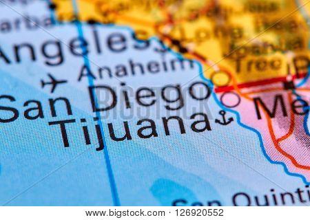 Tijuana On The Map