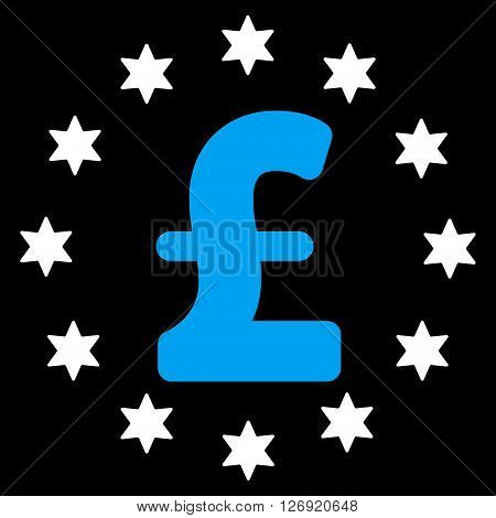 Sparkle Pound vector icon. Sparkle Pound icon symbol. Sparkle Pound icon image. Sparkle Pound icon picture. Sparkle Pound pictogram. Flat sparkle pound icon. Isolated sparkle pound icon graphic.