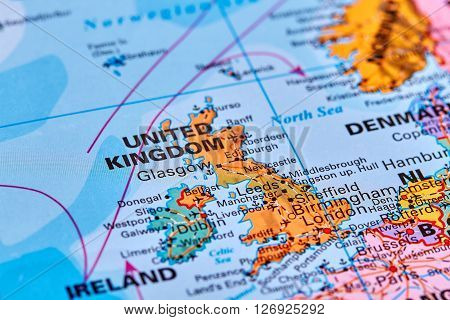 United Kingdom On The Map