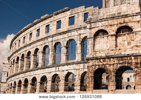 Pula or Pola is the largest city in Istria County Croatia situated at the southern tip of the Istria peninsula