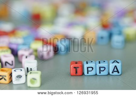 Tppa Word On Dices