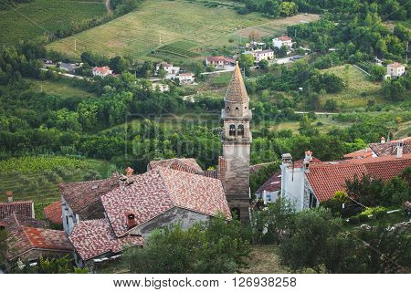 Motovun is a village in central Istria Croatia