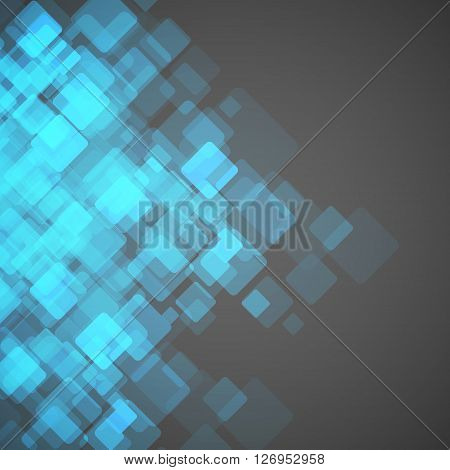 Abstract square background. Vector Illustration. Clip -art