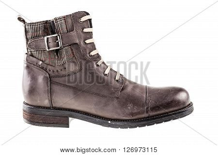 Leather Brown Boot