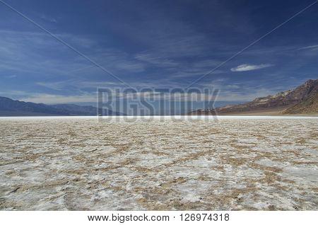 Bad Water Basine in Death Valley (California/Nevada)