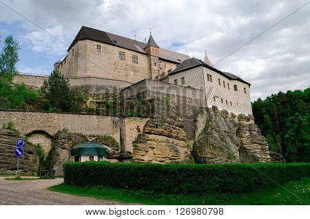 Hrad Kost Kost Castle gothic medieval castle near Turnov Czech Republic