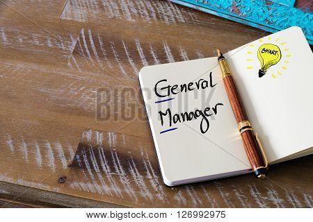 Conceptual Business Acronym Gm