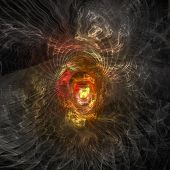 "fantastic dark infernal hell  - See similar images of this ""Fractal Art"" series in my portfolio poster"