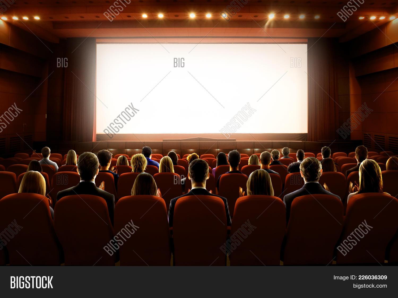 Cinema People PowerPoint Template