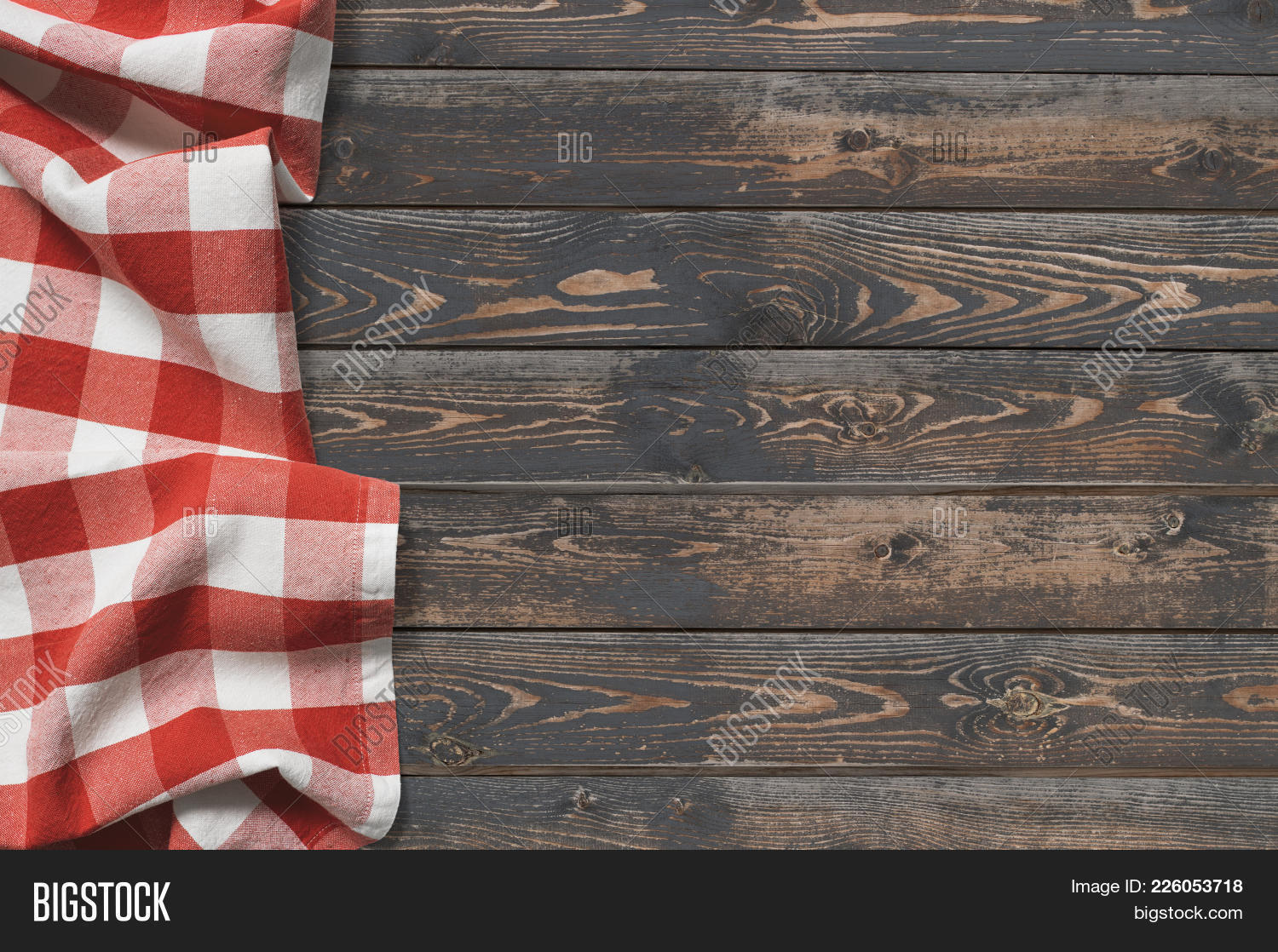 Wooden Table Top View Image & Photo (Free Trial) | Bigstock