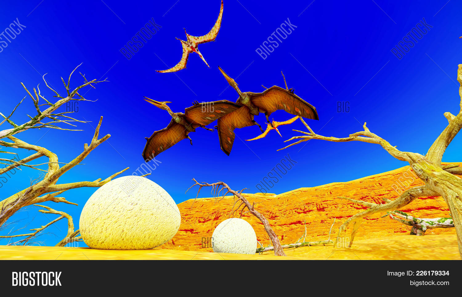egg and pterodactyl powerpoint background powerpoint template egg