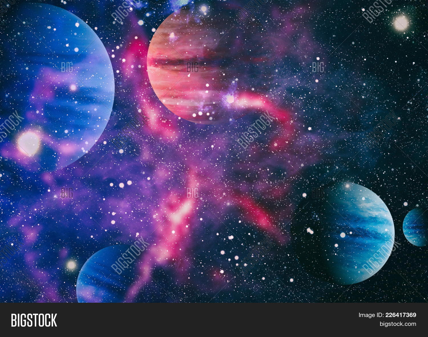 cosmos space nebula galaxies powerpoint template cosmos space