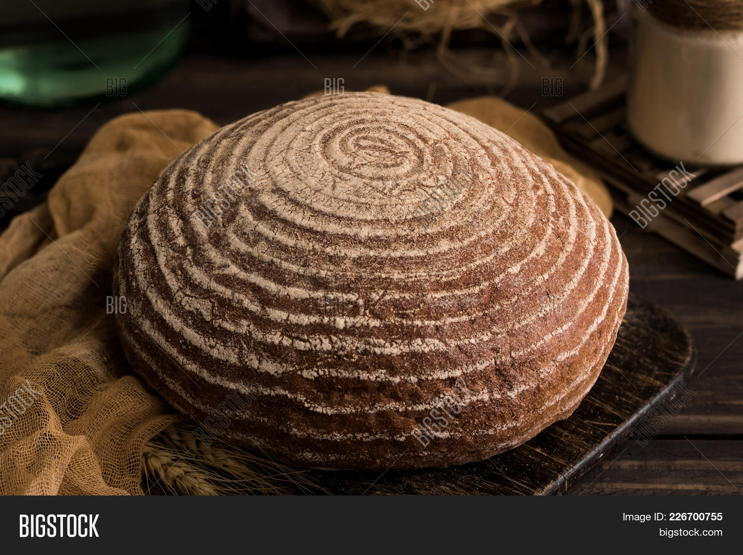 Breaded yeast bread without powerpoint template breaded yeast your text toneelgroepblik Gallery
