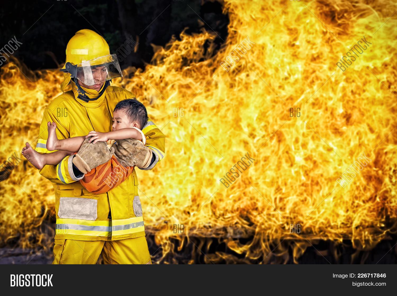firefighter firefighter powerpoint template firefighter