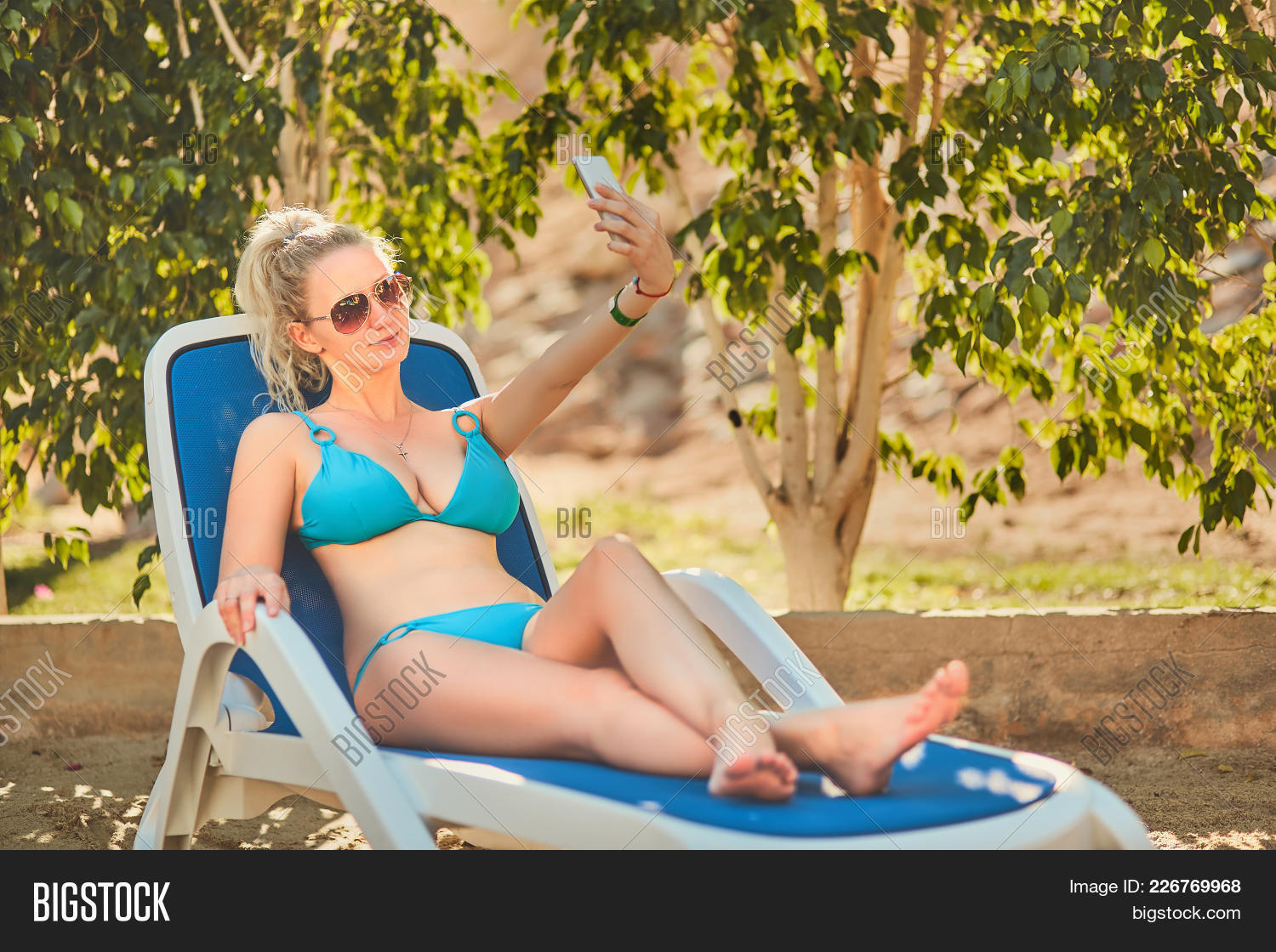 Young Woman Relaxing Image & Photo (Free Trial) | Bigstock