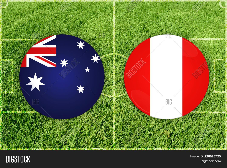 Match illustration football australia powerpoint template match v toneelgroepblik Gallery