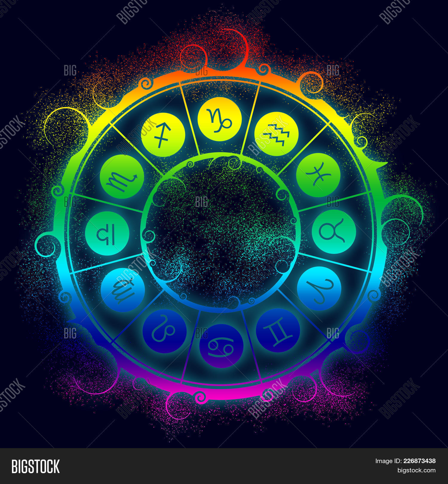 Astrological Symbols Image & Photo (Free Trial) | Bigstock