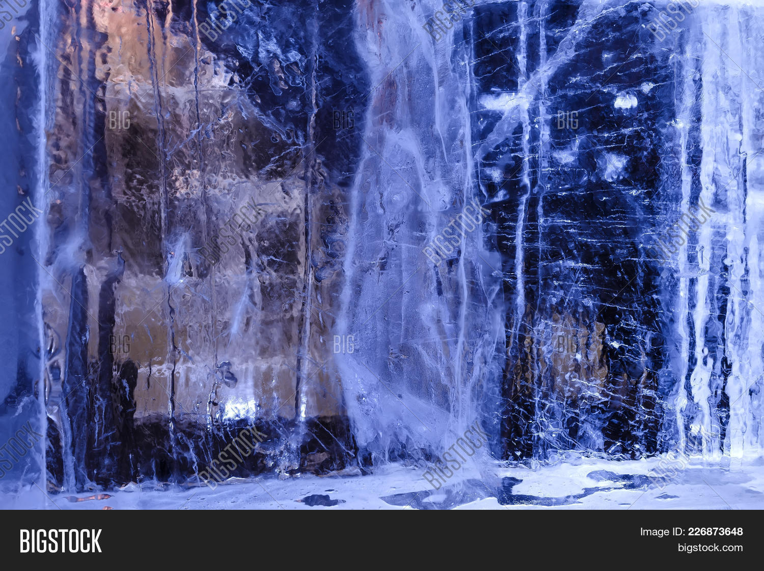 Abstract ice texture powerpoint template abstract ice texture p toneelgroepblik Images