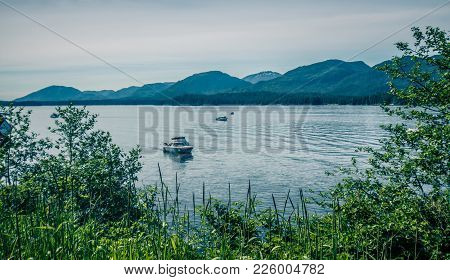 Beautiful Landscapes Around Ketchikan And Tongass Forest In Alaska