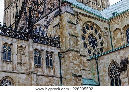 Muenster Cathedral Or St.-paulus-dom (built Early 13th Century), Germany