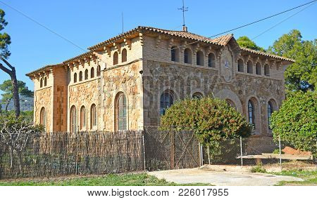 Colonia Güell, Former Textile Factory In The Province Of Barcelona