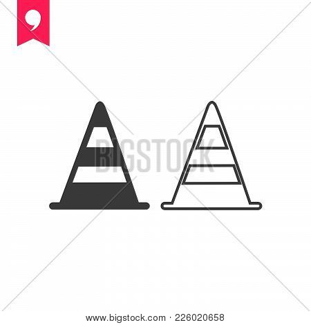 Road Sign  Icon Isolated On White Background. Road Sign Icon Modern Symbol For Graphic And Web Desig