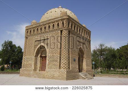 The Mausolem Of Samanid, In Bukhara, Uzbekistan