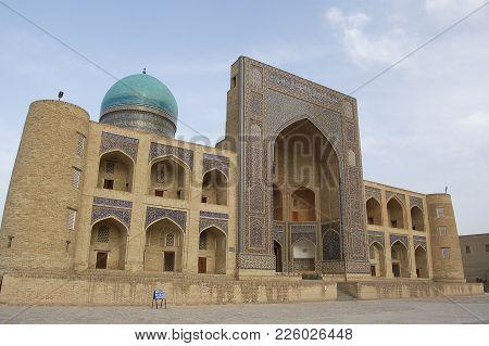The Madrasa Mi-i-arab In Bukhara, In Uzbekistan