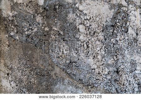 Embossed, Grey Concrete Wall, Texture Background For Any Purpose
