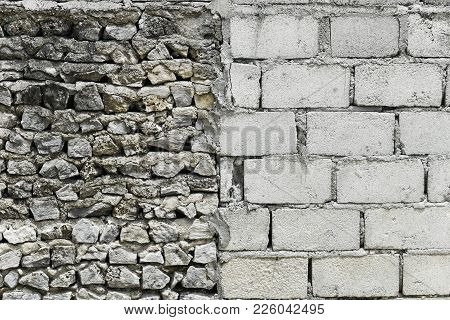 Cement Wall And Stone Wall Difference Wall Texture,old Wall Texture