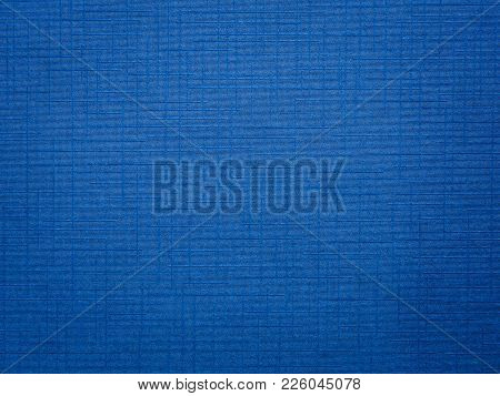 Blue Cloth Texture Background For Your Design.
