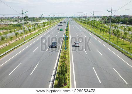 Vietnamese Freeway. Vo Nguyen Giap Street. Legendary Nguyen Giap Is Named For The Major Modern Stree