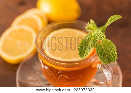 Lemon With Tea
