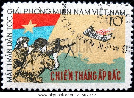 Vietnam Stamp The Battle Of Ap Bac