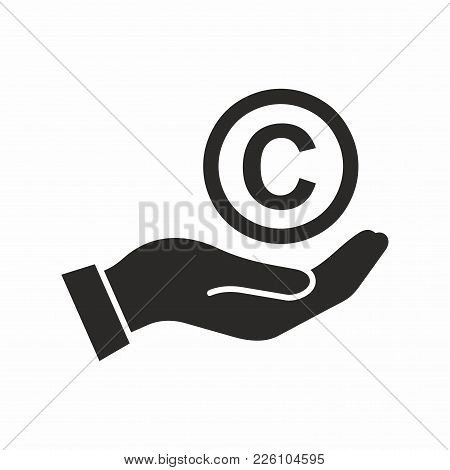 Copyright Symbol. Vector Icon Isolated On White Background.