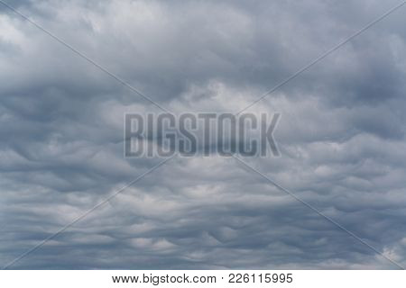 Asperitas A New Type In Classification Of Clouds