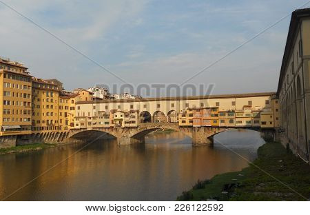 View Of The Ponte Vecchio In Firenze