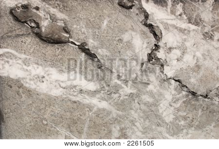 marble flag with the natural picture of texture poster