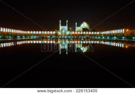 The Bright Evening Lights Make Medieval Naqsh-e Jahan Square One Of The Most Romantic Places In City