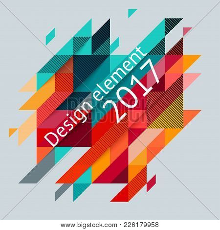 Minimalistic Design, Creative Concept, Modern Diagonal Abstract Background Geometric Element. Red, G
