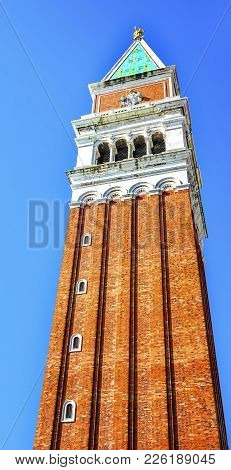 Campanile Bell Tower Saint Mark's Square Piazza Venice Italy